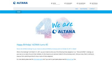 Screenshot: 40.altana.com
