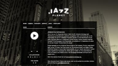Screenshot: jazzplanet.de